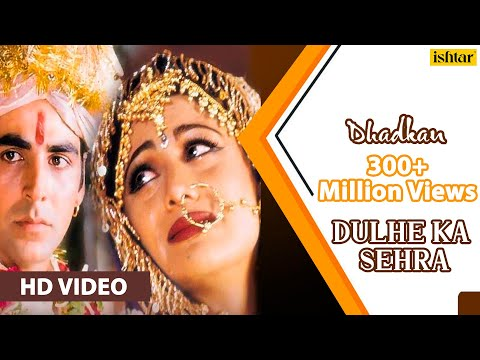 Dulhe Ka Sehra  HD  SONG  Akshay Kumar & Shilpa Shetty Dhadkan 90s Bollywood Marriage Song