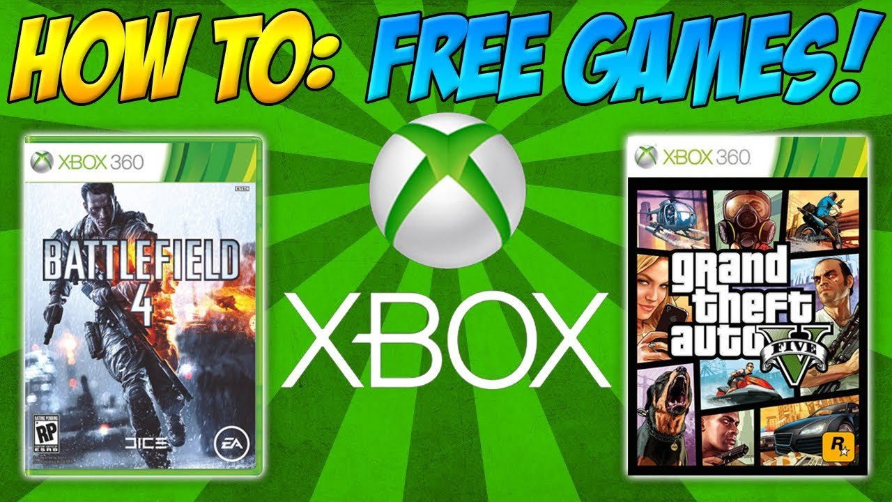 How To Get Free Xbox 360 Marketplace Games Youtube