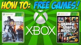 How To Get FREE Xbox 360 Marketplace Games!