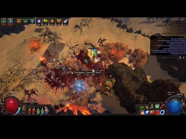 PoE 3 7 Akuna's Will With Vaal Detonate Dead Witch