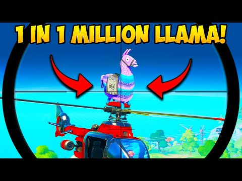 *1 IN A MILLION* LLAMA SPAWN!! - Fortnite Funny Fails And WTF Moments! #865