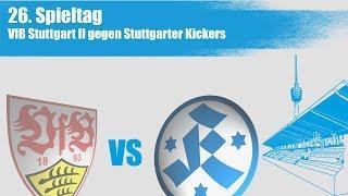 26.Spieltag, VfB Stuttgart II vs Stuttgarter Kickers-Spielbericht+Interview