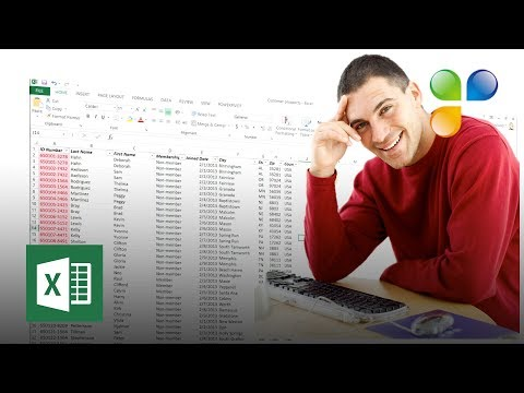 How to rearrange and clean up your data in Excel 2013?
