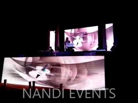 Beautiful singer kajol nandi  with various  performance nandi events