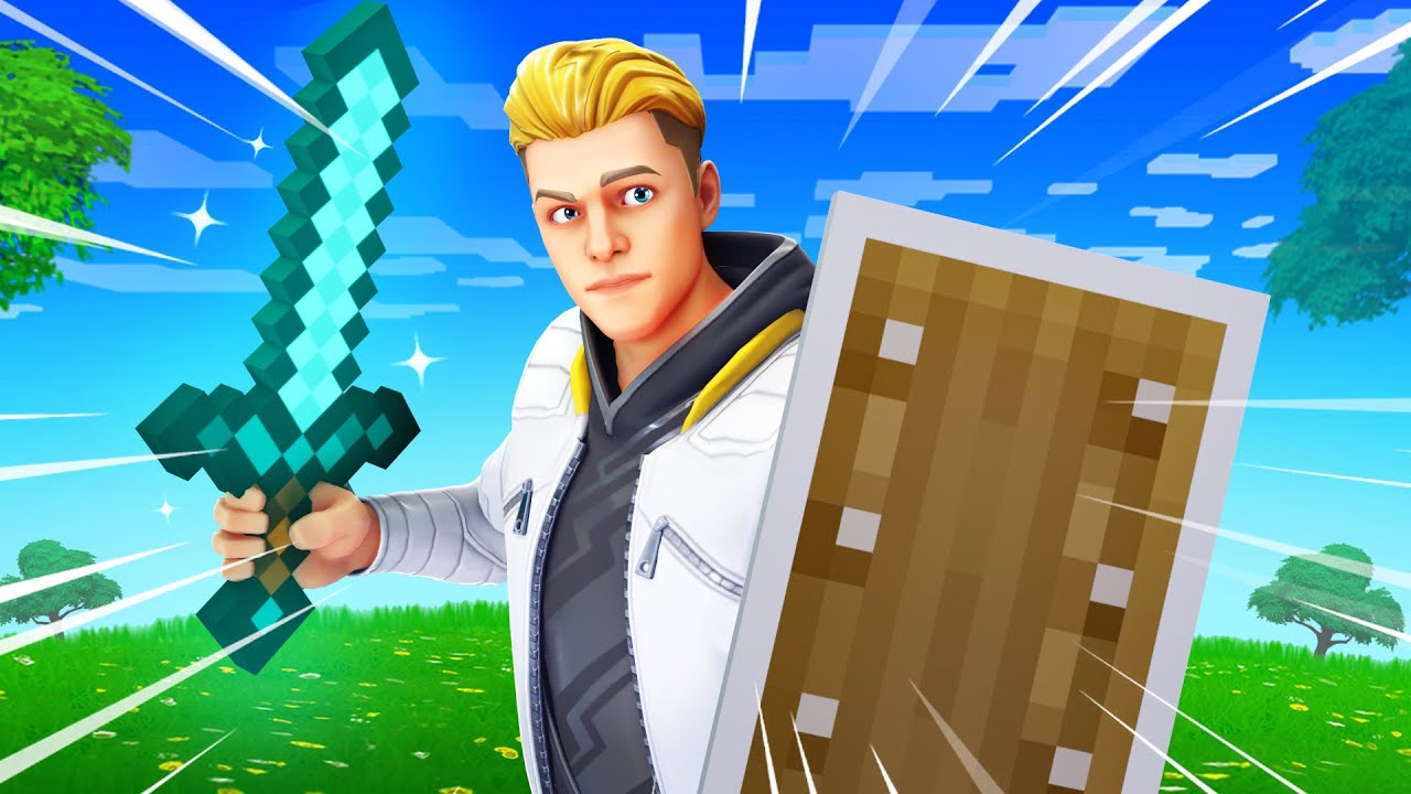 Fortnite BUT its Minecraft Sounds..