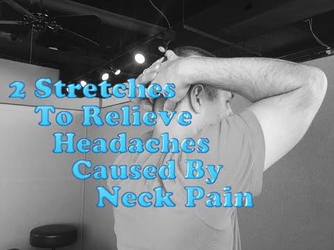 Amarillo Chiropractor - Amarillo TX Chiropractor - 2 Stretches To Relieve Headaches Caused By Neck