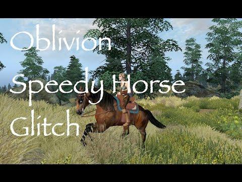 Oblivion: Speedy Horse Glitch (Xbox 360)