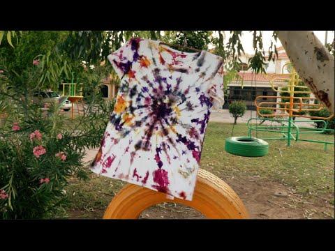 Diy camisetas hippies youtube for Camisetas hippies caseras