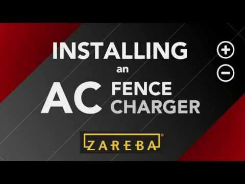 How to Install Electric Fence Charger | Fence Charger Installation ...