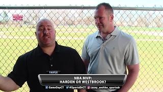 Harden or Westbrook for NBA MVP?