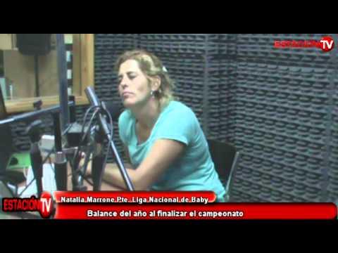 RADIO ESTACION Natalia Marrone Pte  Liga Nacional de Baby Futbol
