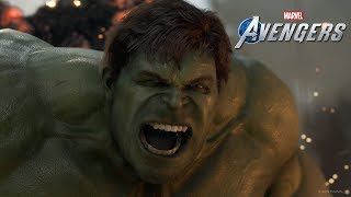 MARVEL's AVENGERS Official A-Day Prologue Gameplay Footage (Gamescom 2019)