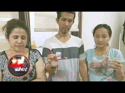 Tiga Anak dan Menantu Elvy Sukaesih Ditangkap Gunakan Narkoba - Hot Shot 17 Februari 2018