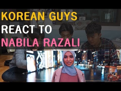 Korean Guys React to [NABILA RAZALI - PEMATAH HATI]