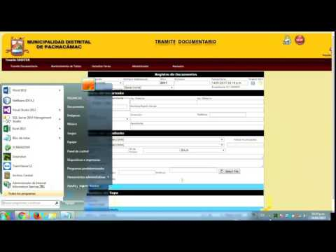 Sistema de Tramite Documentario - Mesa de Partes para Municipalidades.