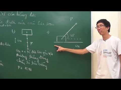 Lực, biểu diễn lực, cân bằng lực – Vật lý lớp 8