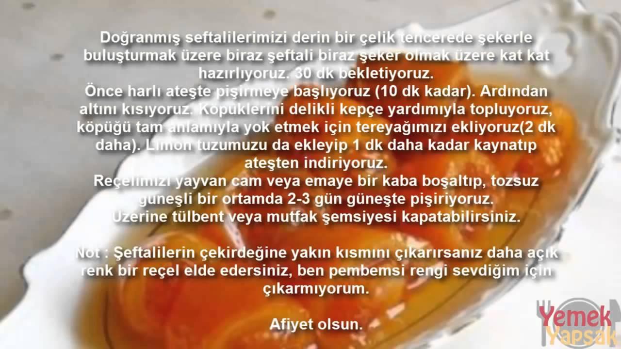 Şeftali Reçeli Tarifi Videosu