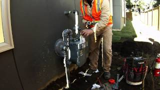InfraSource Services Natural Gas Meter Installation