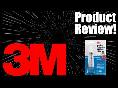 3M Marine Adhesive Sealant - 5200 Product Review! - YouTube