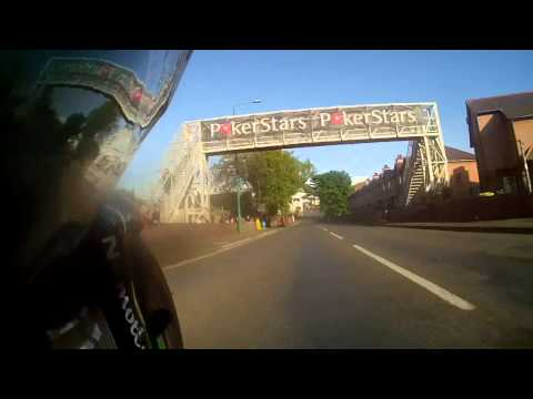 Tuukka's TT 2015! Isle of Man - Road Racing - Kawasaki Lightweight ON BIKE Lap!