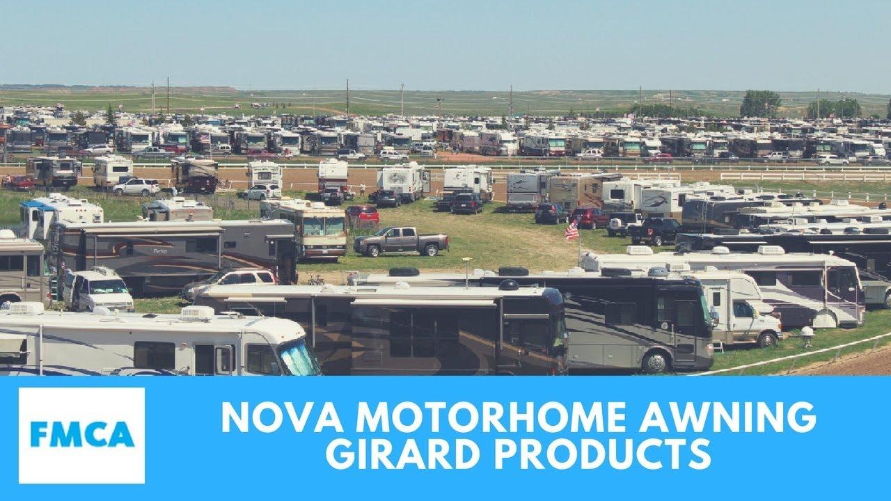 Girard Nova Two Stage Remote Control Motorhome Awning