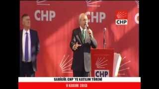 SARIGÜL CHP'YE KATILIM TÖRENİ 09/11/2013