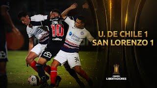 U. de Chile vs. San Lorenzo [1-1] | RESUMEN | Fase 2 | CONMEBOL Libertadores 2021