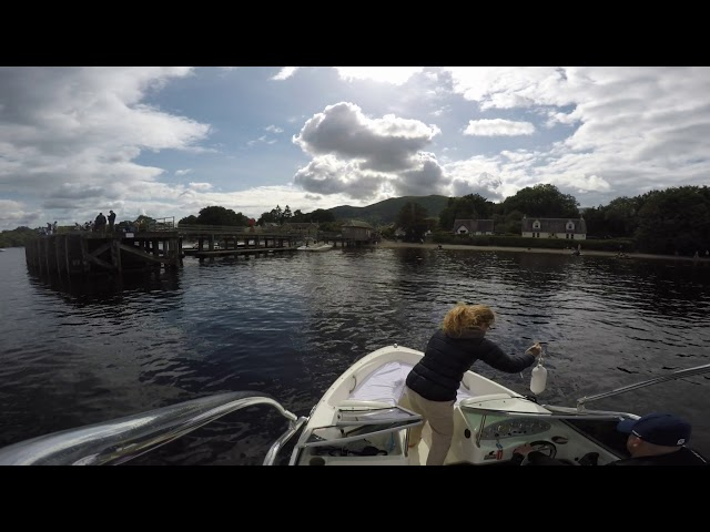 Bayliner 175 - Loch Lomond - August 2017