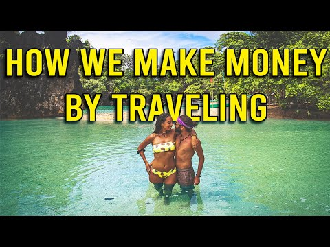 How to TRAVEL Full Time and MAKE MONEY Online (Our Story)