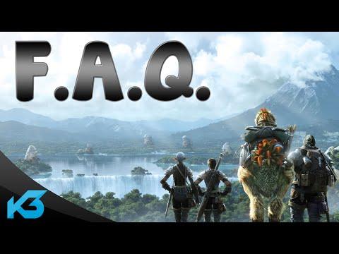 Kujar3 - F.A.Q [Často kladené otázky] + FF XIV gameplay