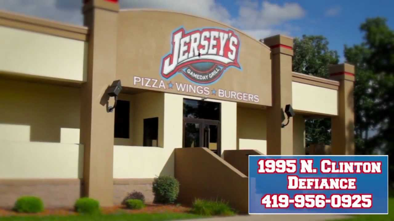 Jerseys Gameday Grill - Restaurant - Defiance, OH - YouTube