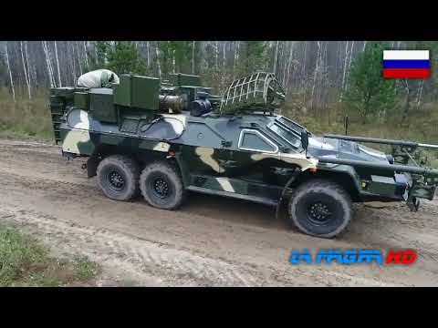15M107 Listva - Remote Mine Clearing Vehicle