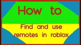 Roblox Finding Remotes Tutorial