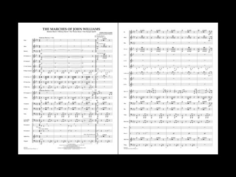 The Marches of John Williams arranged by Johnnie Vinson