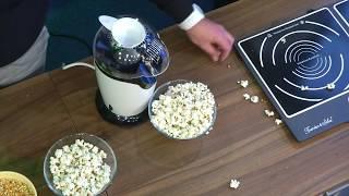 Rosenstein & Söhne Popcorn-Maschine für Zuhause