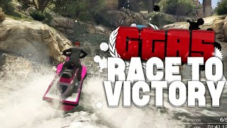 de tunnel stunt gaat goed gta v race to victory s4 8