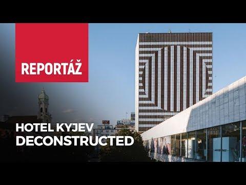 Lousy Auber nám priblížil dielo na Hoteli Kyjev v Bratislave