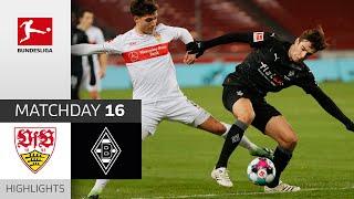#vfbbmg | highlights from matchday 16!► sub now: https://redirect.bundesliga.com/_bwcs watch the bundesliga of vfb stuttgart vs. borussia möncheng...