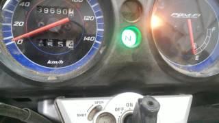 Moto 150 Sensor de inclinação ou bas e seu codigo 54 de piscada