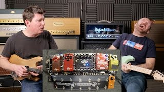 that pedal show argghh evh5150 jhs at angry charlie wampler pinnacle deluxe more