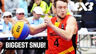 Biggest Snub - Top 10 Crossovers 2016 - FIBA 3x3 - Deroover's Crossover
