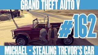 GTA 5 NEXT GEN - MICHAEL - STEALING TREVOR