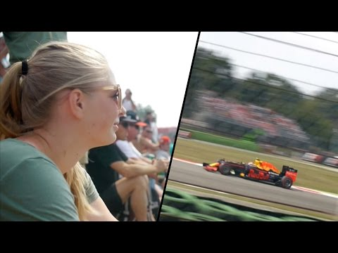 F1 MONZA RACE SURPRISE! - Travel Italy vlog 190