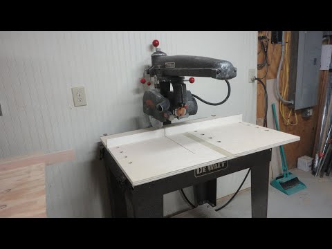 How To Completely Align A Radial Arm Saw
