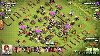 Clash of clan funny base|| Awesome loot