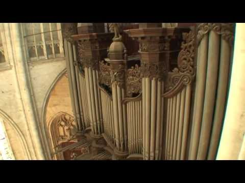 "Kalevi Kiviniemi plays Widor's ""Toccata"" at St.Ouen, Rouen, France"