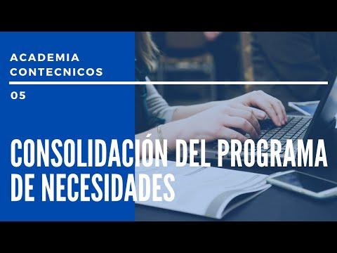 PODCAST CONTÉCNICOS - Emisión 05 - Consolidando el programa de necesidades