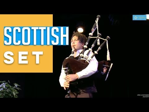 2017 Festival Interceltique Lorient Trophy Scottish Set Lincoln Hilton