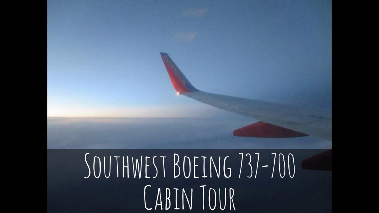 Southwest Boeing 737 700 Cabin Tour