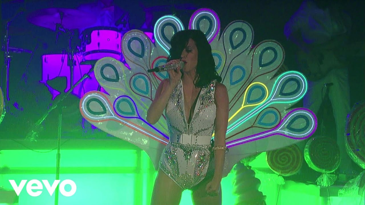 Katy Perry - Peacock (Live on Letterman)
